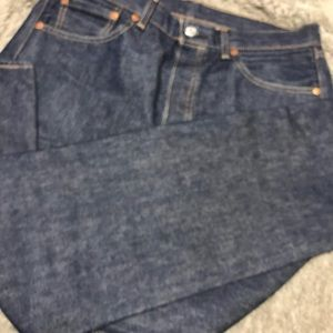 Men's Levi's 501 raw denim jeans